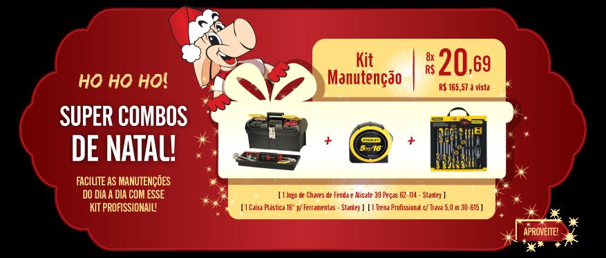 Kit Manutenção Natal