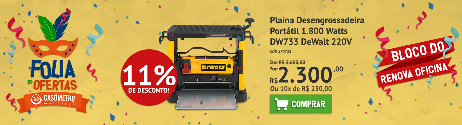 Plaina DeWalt