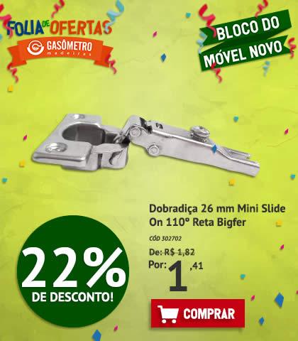 Dobradiça 22%OFF