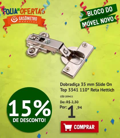 Dobradiça 15%OFF