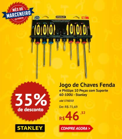 Jogo de Chaves 35%OFF