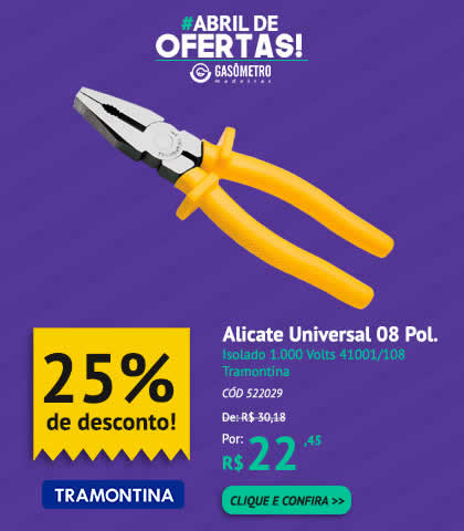 Alicate 25%OFF