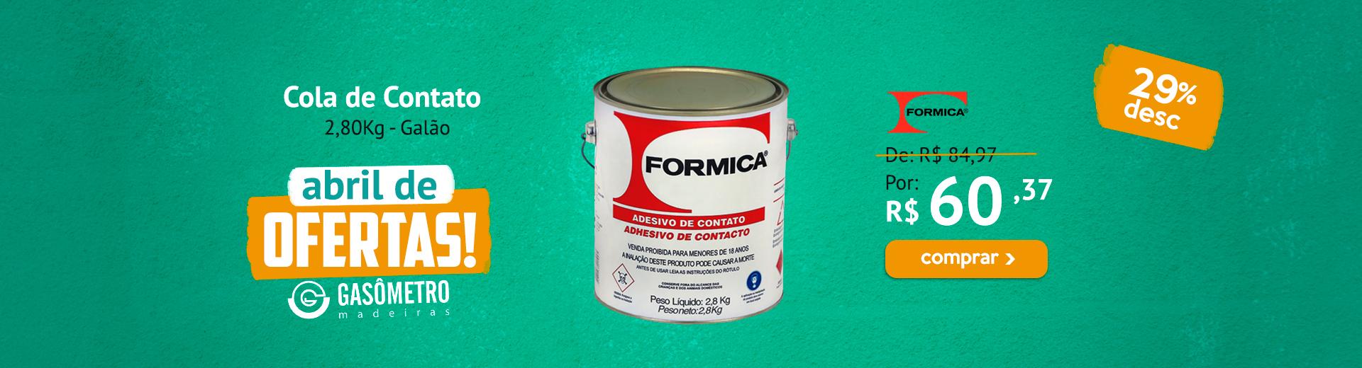 Cola Fórmica 2,8Kg