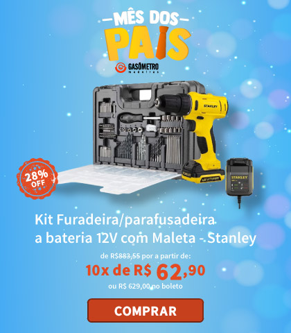 Parafusadeira 12V Stanley